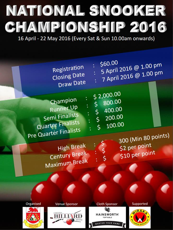 national-snooker-championship-2016-poster